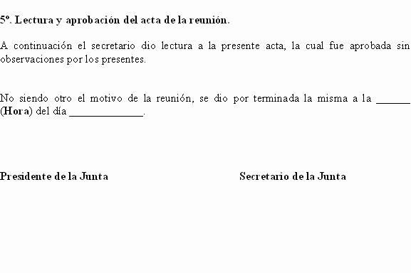 Formato Para Minutas De Juntas Lovely Eregulations Bogotá