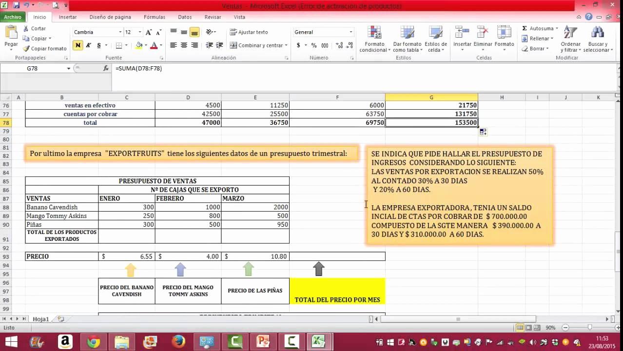 Formato Para Presupuesto En Excel Beautiful Ejemplo De Presupuesto De Ventas