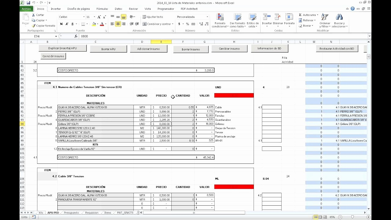 Formato Para Presupuesto En Excel Best Of Hoja De Calculo Excel Para Hacer Presupuestos De forma