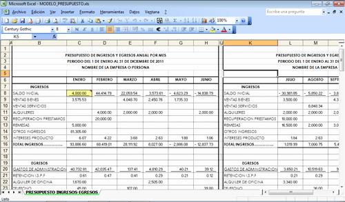 Formato Para Presupuesto En Excel Elegant Jeimy Rodirguez Mayo 2016