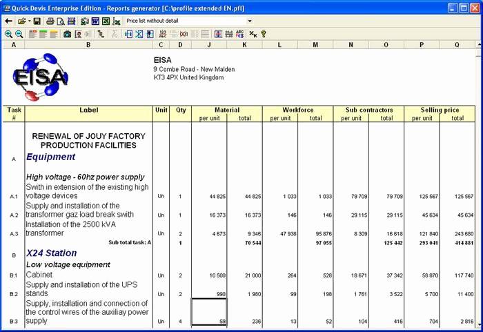 Formato Para Presupuesto En Excel Fresh Emails Presupuestos Y Pedidos Fáciles