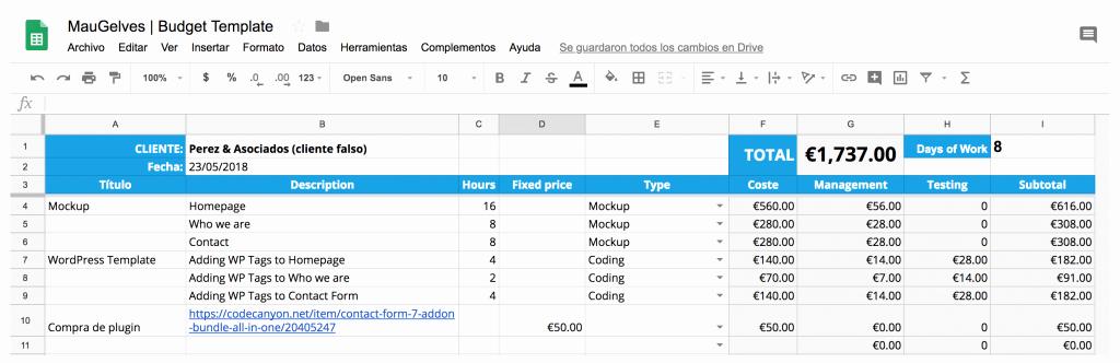 Formato Para Presupuesto En Excel Inspirational Plantilla Presupuesto Excel Elegant V with Plantilla
