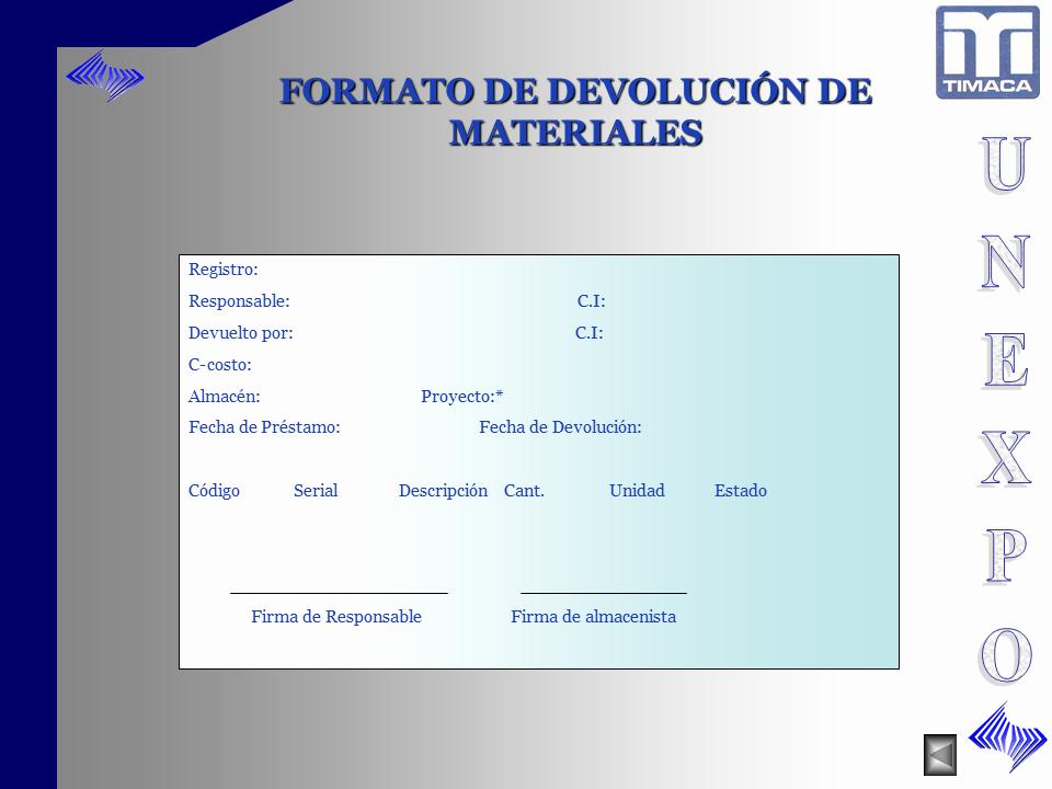 Formato Para Salida De Almacen New Manual De Procedimientos Registro Y Control Entrada Y