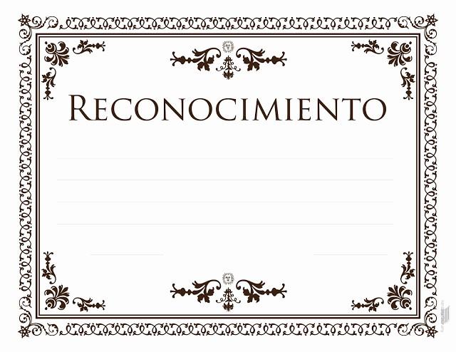 Formato Reconocimiento Empleado Del Mes Unique formatos Para Diplomas De Honor Imagui