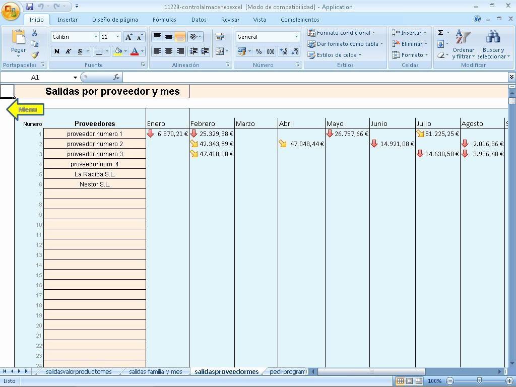 Formato Salida De Almacen Excel Elegant Descargar Control Varios Almacenes Excel Gratis En Español