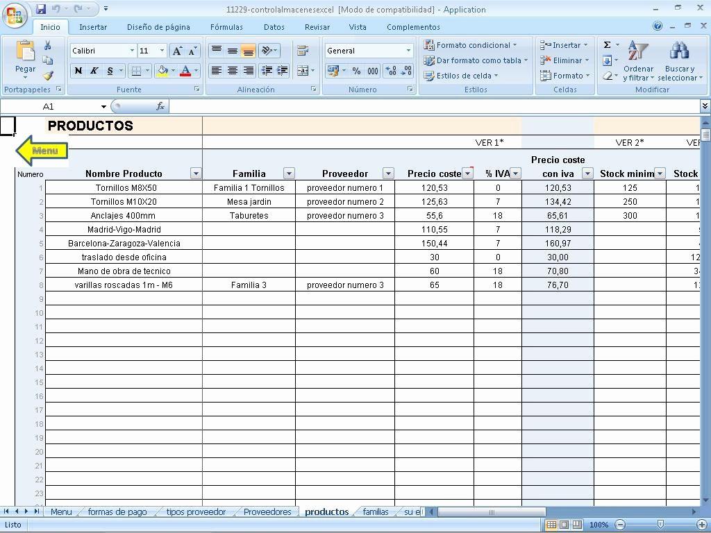 Formato Salida De Almacen Excel New Control Varios Almacenes Excel Descargar Para Pc Gratis