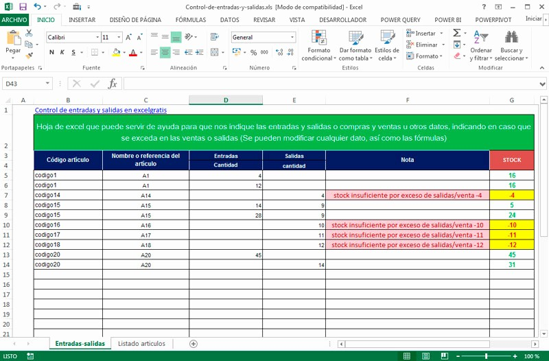 Formato Salida De Almacen Excel New formatos Para Almacen En Excel Celowithjo