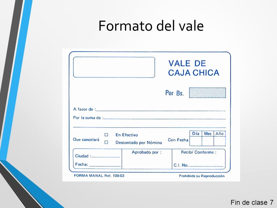 Formato Vale Por Para Imprimir Fresh Documentos Erciales Ppt Video Online Descargar