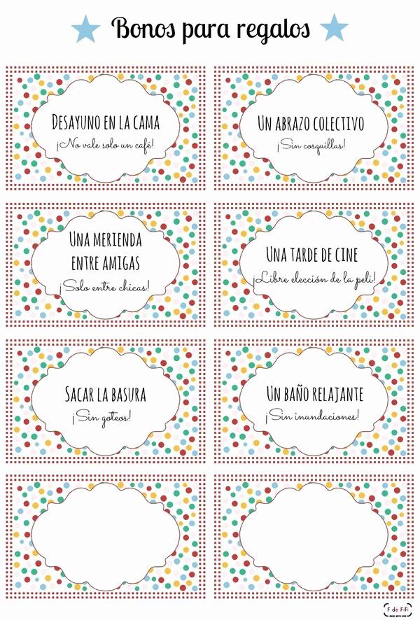 Formato Vale Por Para Imprimir Fresh Imprimible Bonos Para Canjear Para El Da De La Madre