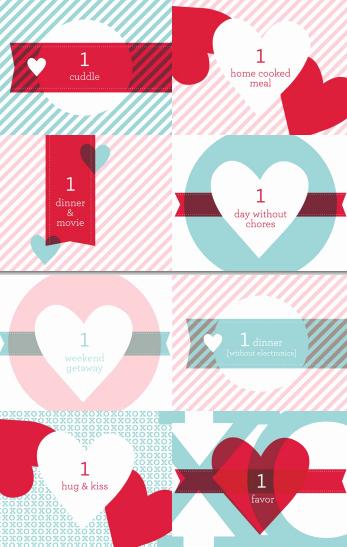 Formato Vale Por Para Imprimir Inspirational Regalos Manuales De Amor Enero 2014