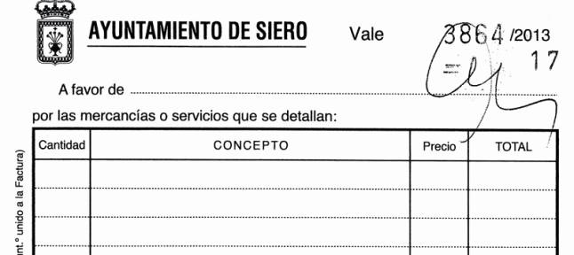 """Formato Vale Por Para Imprimir Lovely """"hay total Transparencia"""" Dice El Edil De foro De Siero"""