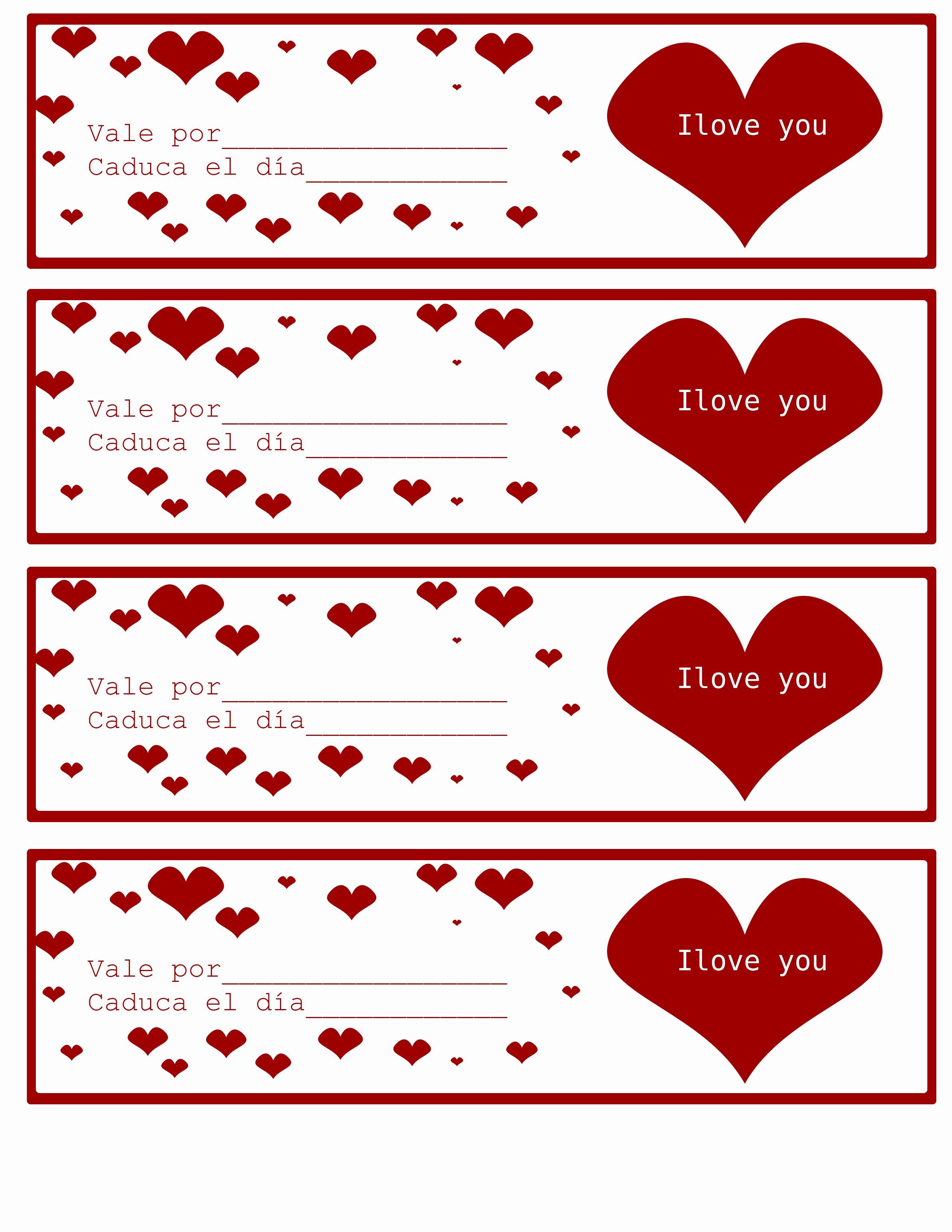 Formato Vale Por Para Imprimir Lovely Vales Para Regalo Tips E Ideas