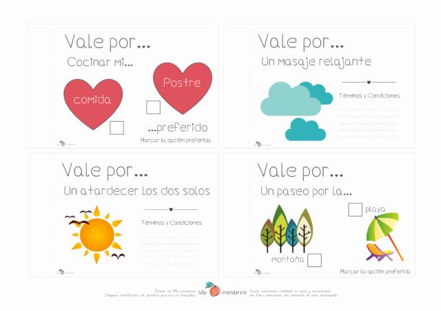 Formato Vale Por Para Imprimir Luxury Descargable San Valentn – Vales Para Parejas Felices