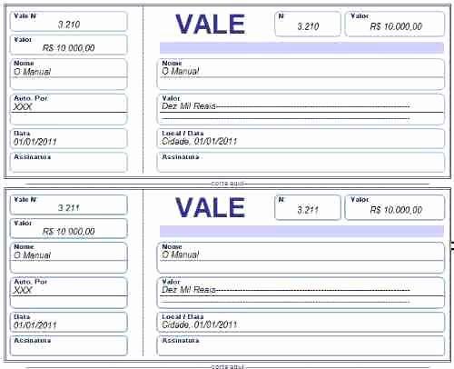 Formato Vale Por Para Imprimir Luxury Recibo De Vale Modelos De Recibo De Vale Para Imprimir