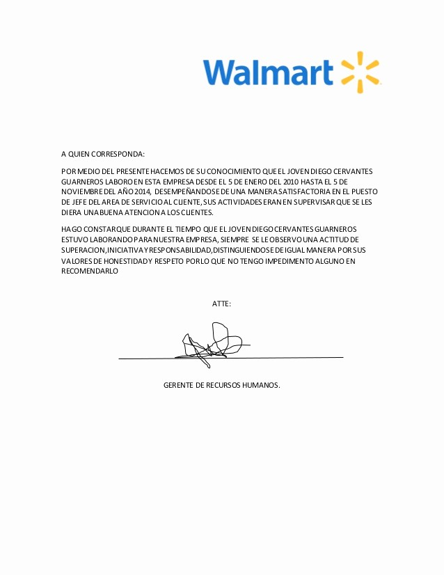 Formatos Carta De Recomendacion Laboral Fresh Carta De Re Endacion