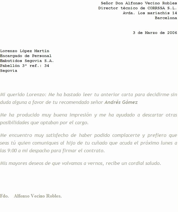Formatos Carta De Recomendacion Personal Luxury Modelo De Carta De Re Endación