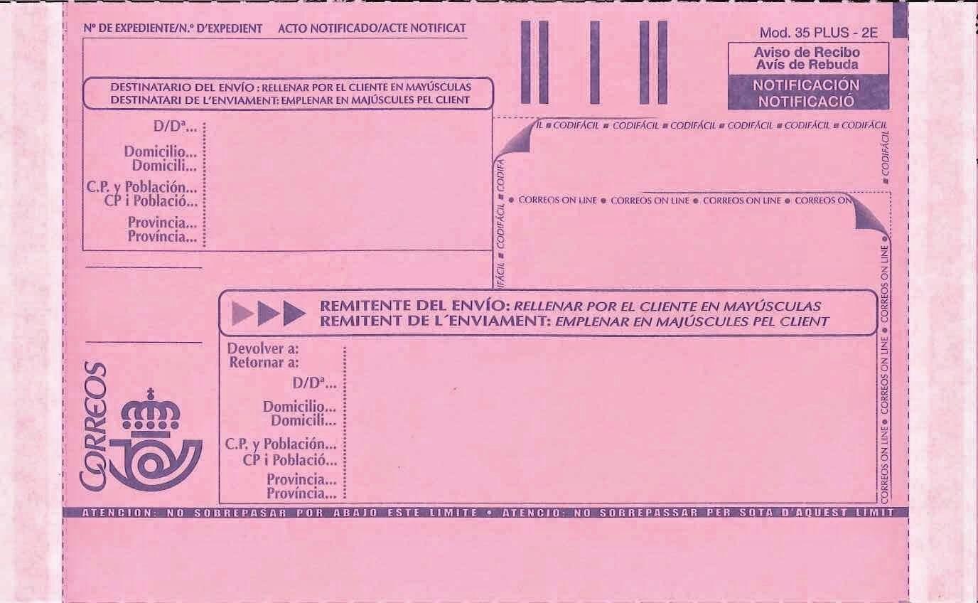 Formatos De Acuse De Recibo Best Of Chuletas Tic Imprimir Acuse De Recibo Postal