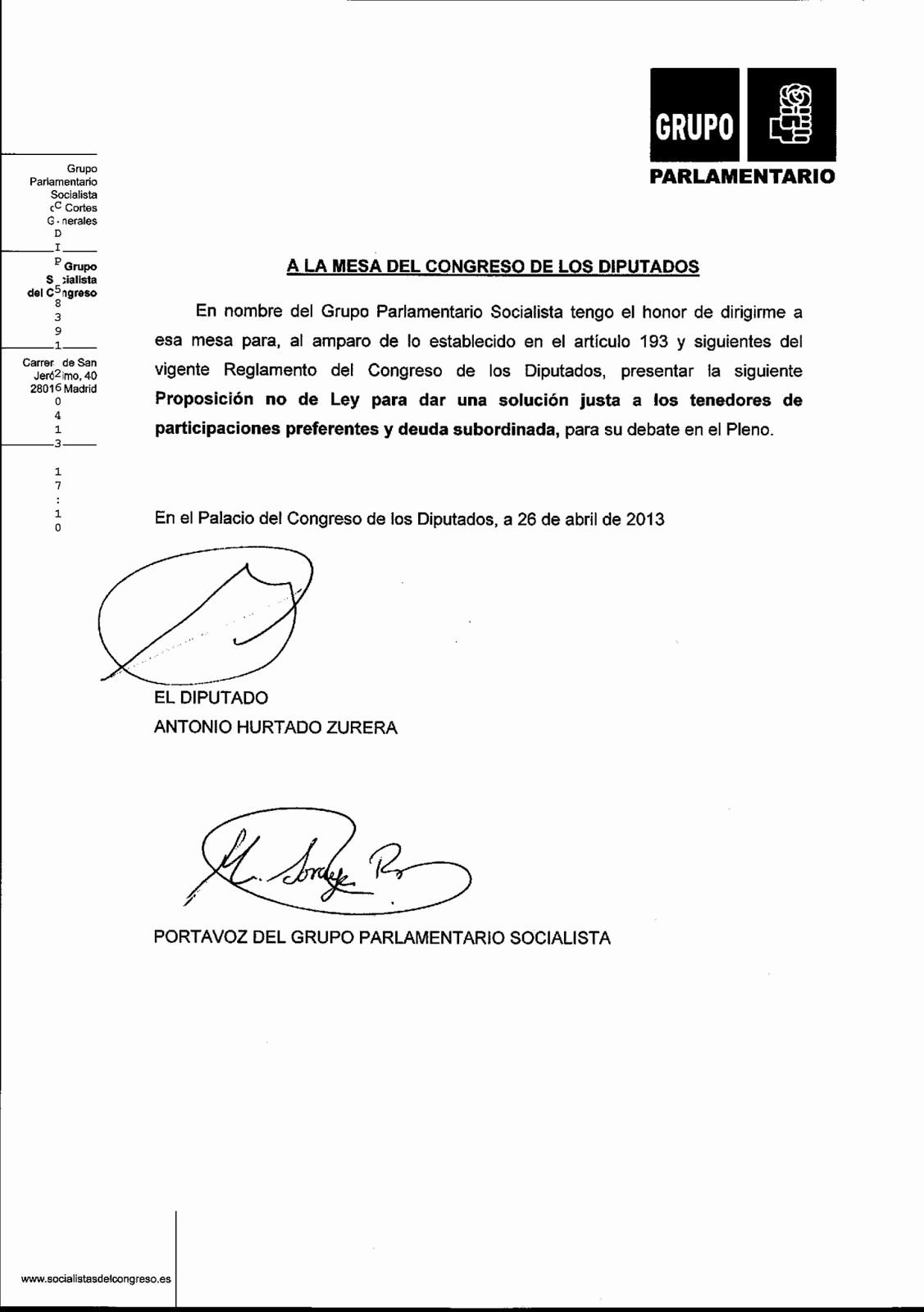 Formatos De Acuse De Recibo Fresh formato De Acuse De Recibo Estafa Preferentes Bankia 2009