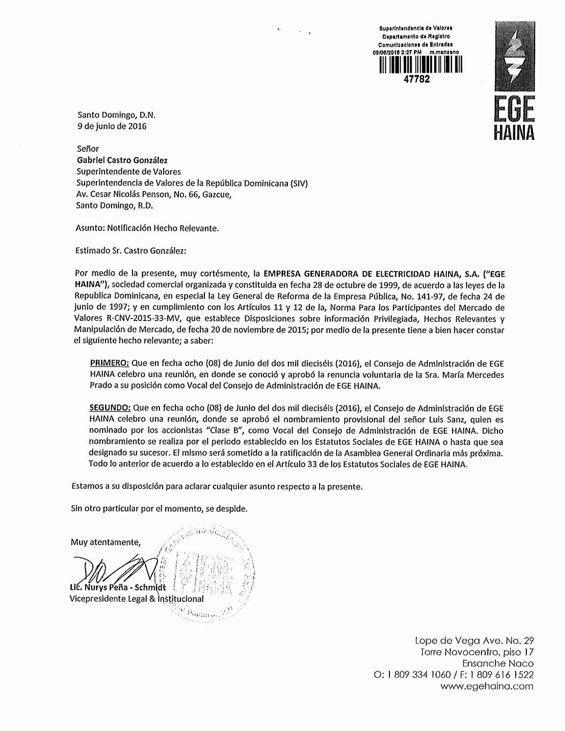 Formatos De Acuse De Recibo Luxury Acuse Recibo Carta Siv Renuncia Maria Prado Nombramiento