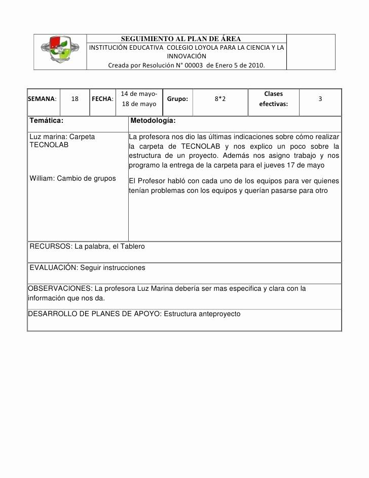 Formatos De Caratulas Para Trabajos Fresh formato Bitácora 12