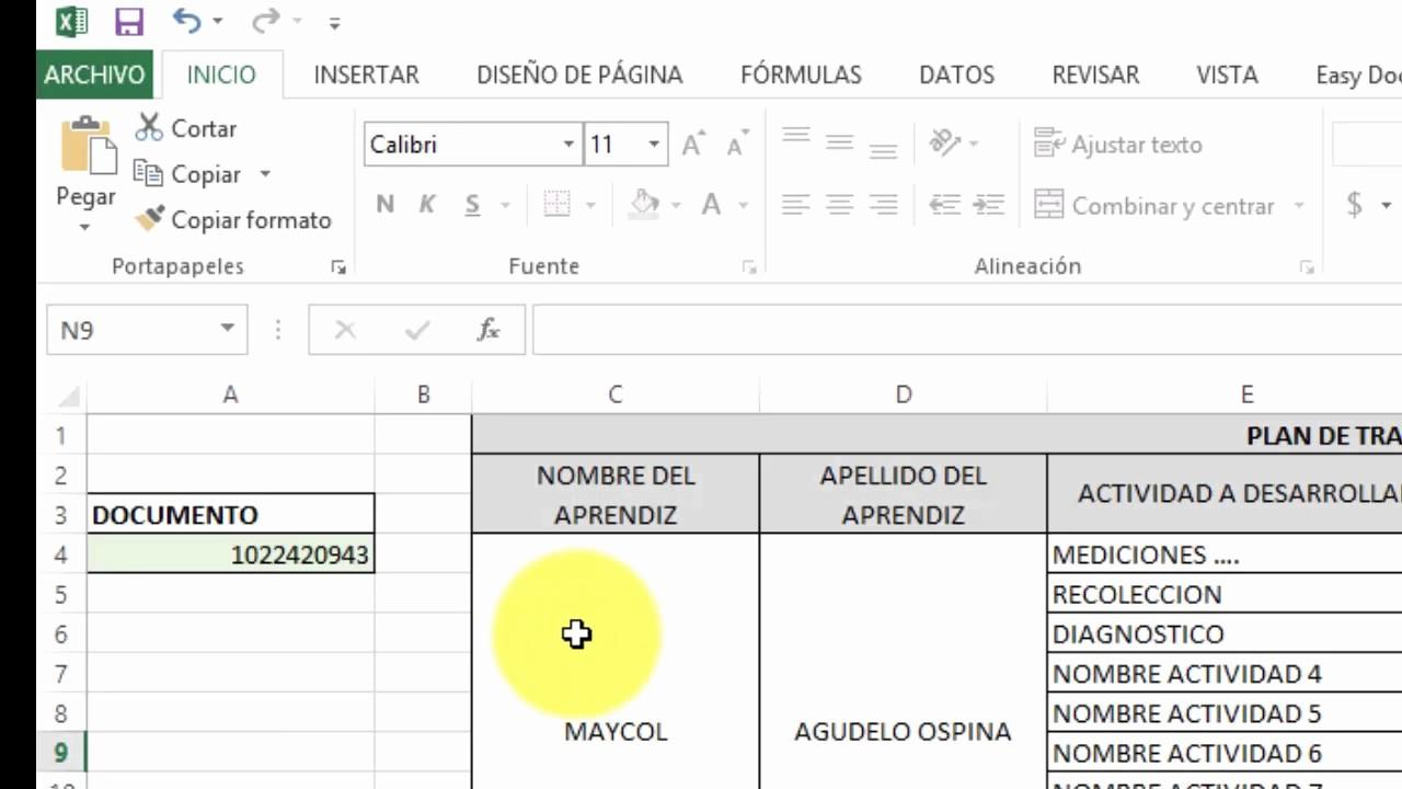 Formatos De Caratulas Para Trabajos Luxury formato Plan De Trabajo Sena Cfafc 2017