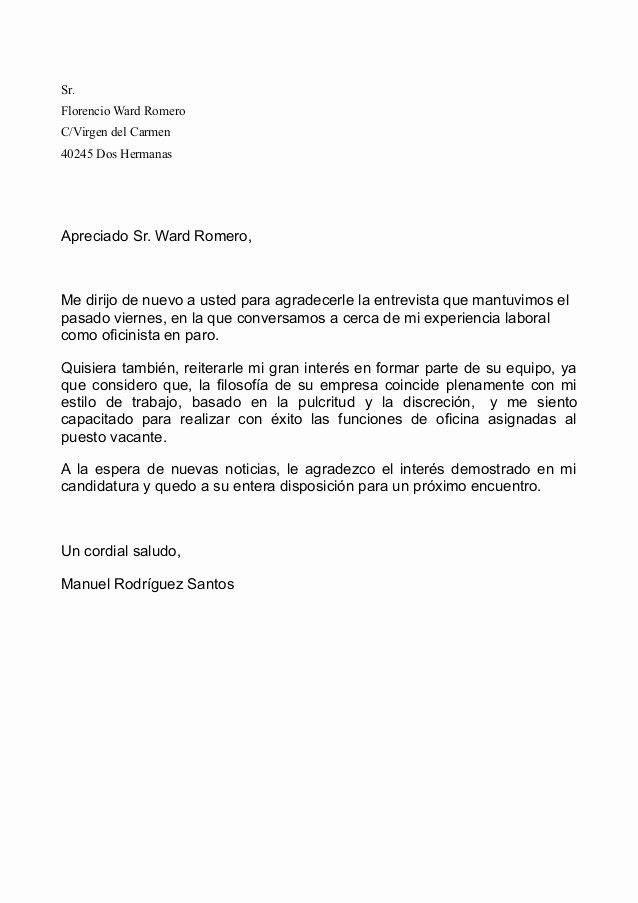Formatos De Cartas De Renuncias Unique Cartas Procesador