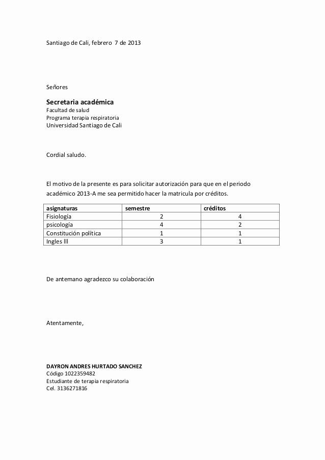 Formatos De Cartas De Trabajo Best Of formato Carta Usc