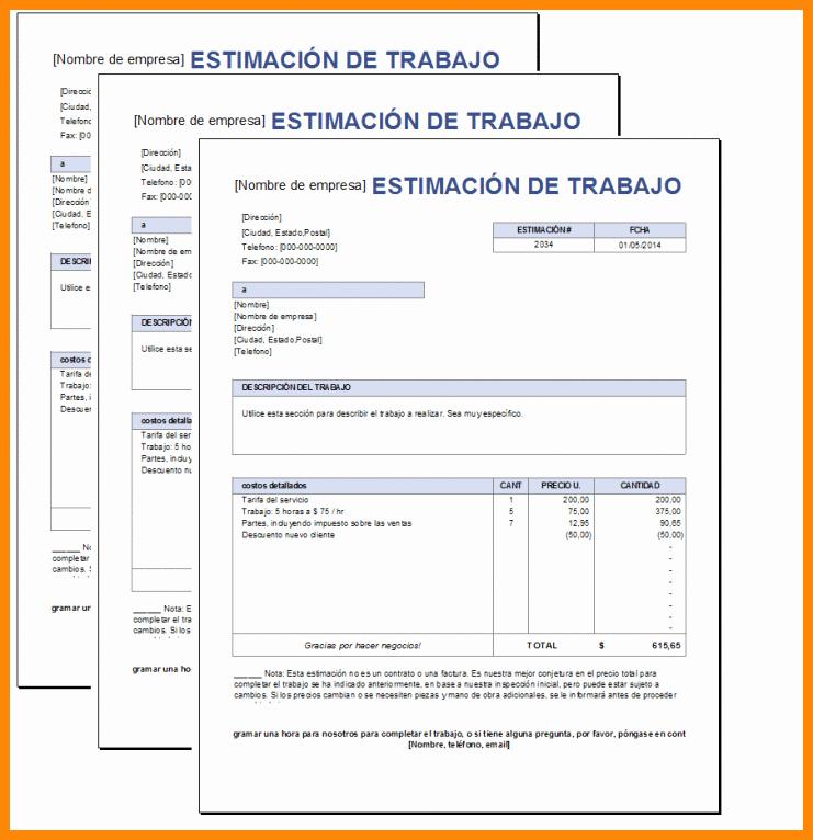 Formatos De Cotizaciones Para Llenar Luxury 12 13 formatos Para Cotizaciones En Word