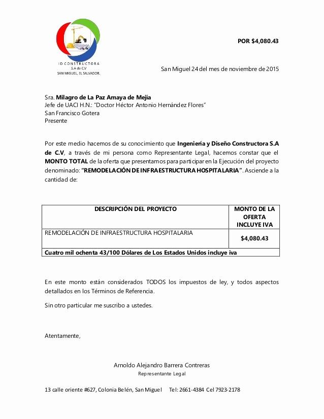Formatos De Cotizaciones Para Llenar Luxury Cotizacion De Reparaciones H Gotera
