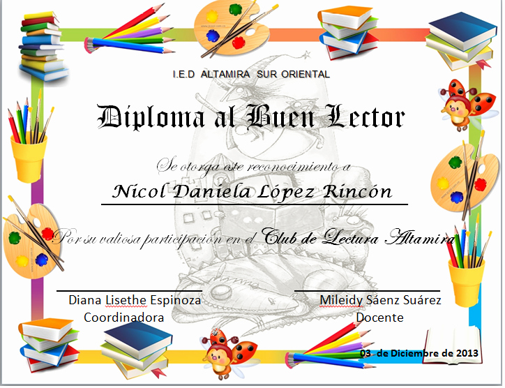 Formatos De Diplomas Para Modificar Beautiful Reconocimientos Para Kinder Imagui