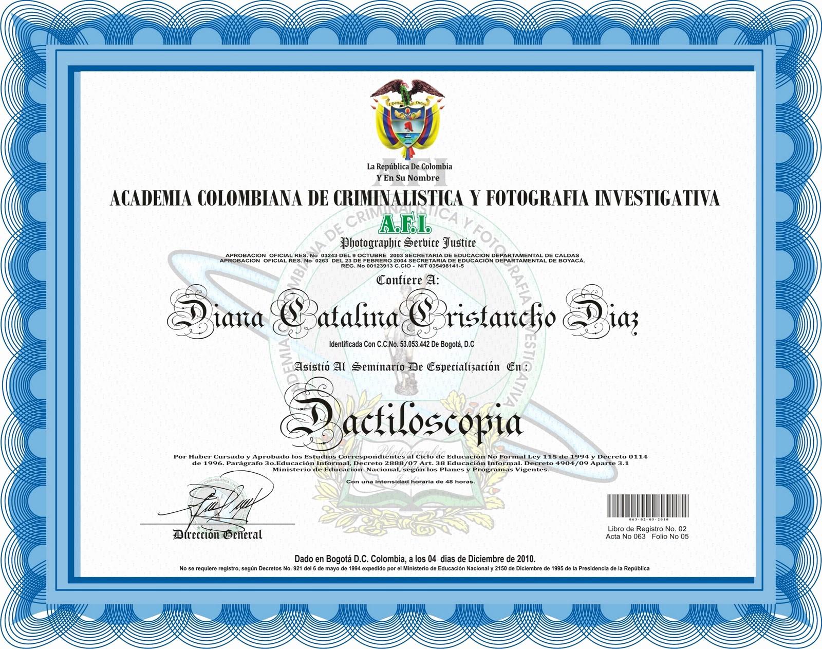 Formatos De Diplomas Para Modificar Fresh A F I Virtual Acreditacion