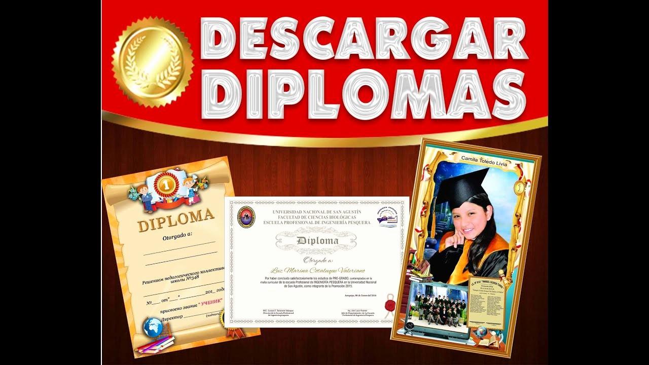 Formatos De Diplomas Para Modificar Inspirational Descarga Diplomas Para Editar En Diferentes formatos Psd