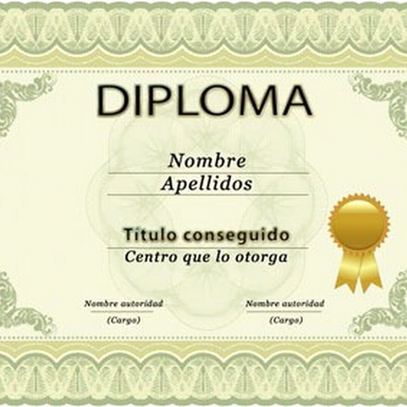 Formatos De Diplomas Para Modificar Inspirational Diplomas Editables Para Imprimir Imagui