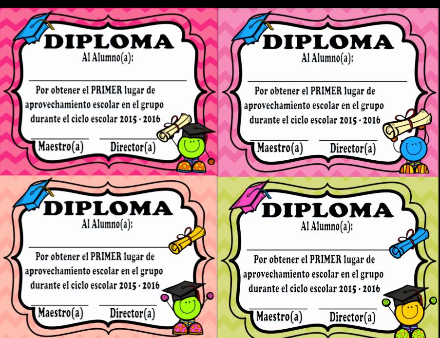 Formatos De Diplomas Por Aprovechamiento Beautiful Diplomas Exclusivos Para La Graduación Sin Marca De Agua