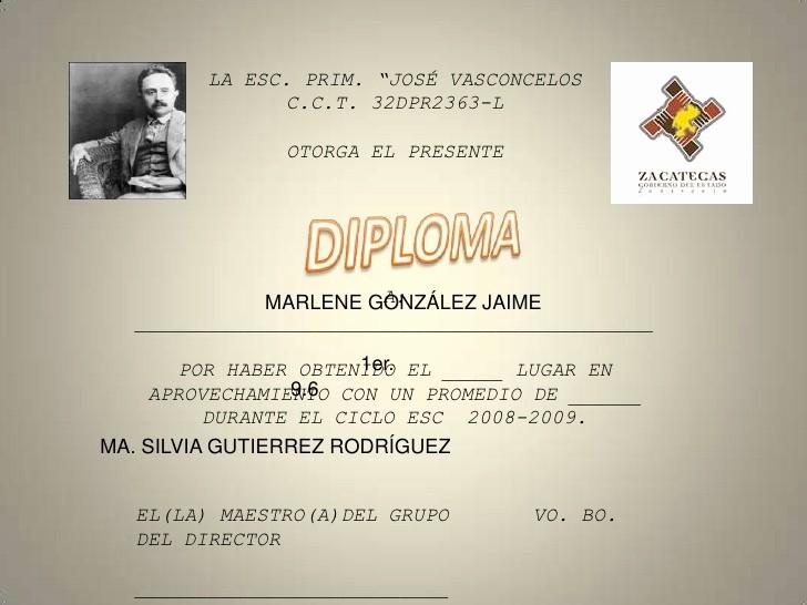 Formatos De Diplomas Por Aprovechamiento Elegant Diploma