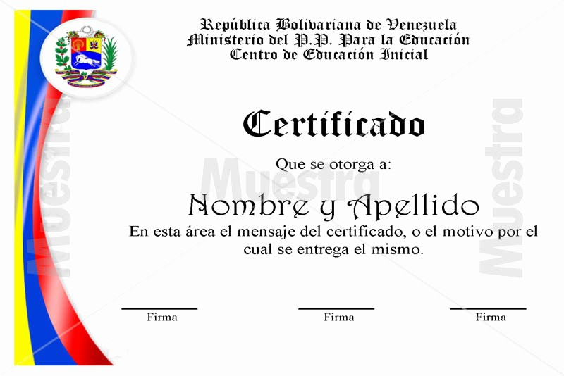 Formatos De Diplomas Por Aprovechamiento Elegant Modelos De Certificados Libreriaspopular Librera