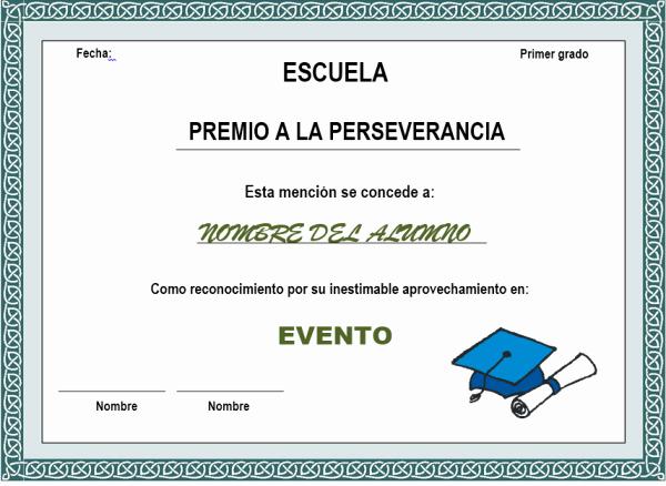 Formatos De Diplomas Por Aprovechamiento Fresh Diplomas Escolares Infantiles Para Niños Para Imprimir Y