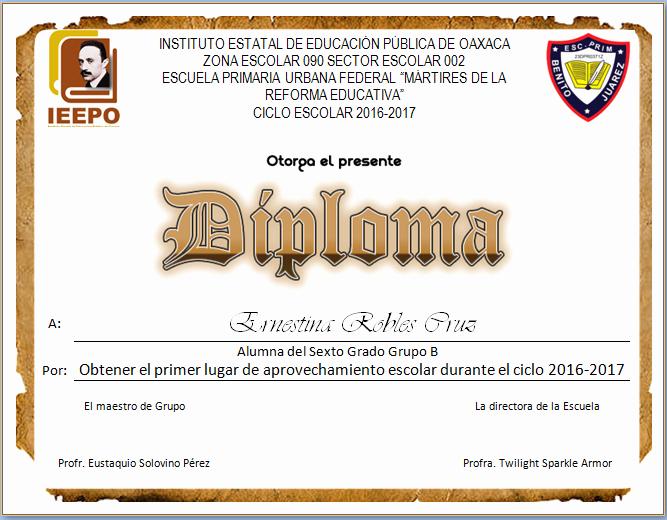 Formatos De Diplomas Por Aprovechamiento Inspirational Actividades Imprimibles Para Primaria Diplomas Para