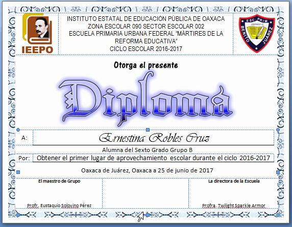 Formatos De Diplomas Por Aprovechamiento Luxury Diplomas De Aprovechamiento Primaria En Word Diplomas