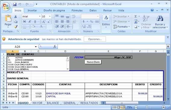 Formatos De Excel Para Contabilidad Best Of Contablex software Contablex