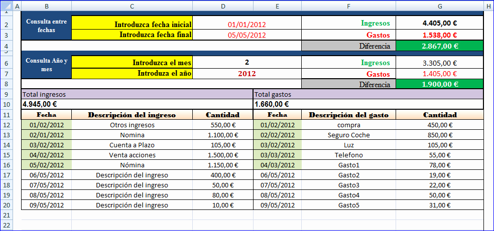 Formatos De Excel Para Contabilidad Best Of Ingresos Y Gastos
