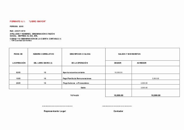 Formatos De Excel Para Contabilidad Fresh formatos De Libros Contables