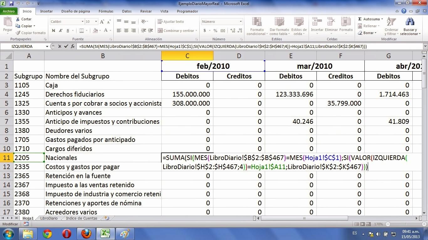 Formatos De Excel Para Contabilidad Inspirational formato Libro Diario De Contabilidad En Excel
