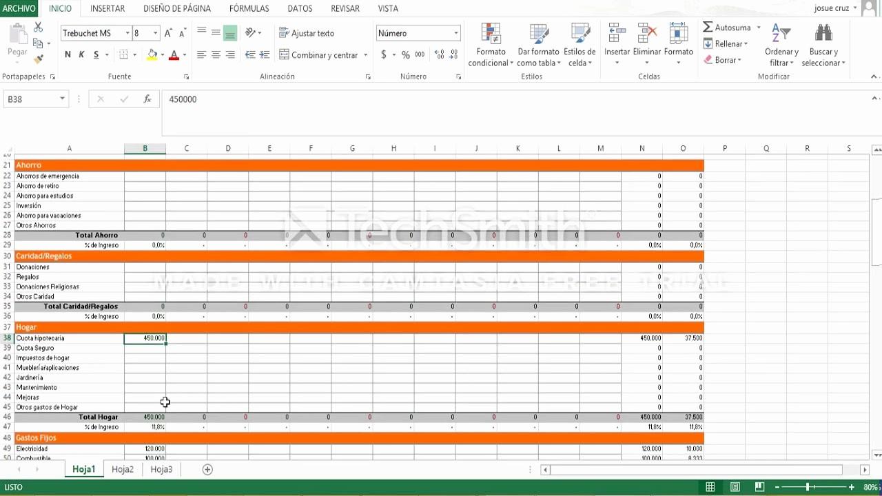 Formatos De Excel Para Contabilidad Luxury Tutoriaal Plantilla Ingresos Y Gastos En Excel