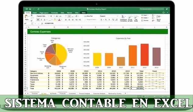 Formatos De Excel Para Contabilidad New Sistema De Contabilidad Simplificada En Excel