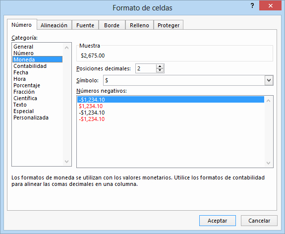 Formatos De Excel Para Contabilidad Unique formato De Números En Excel 2013 • Excel total