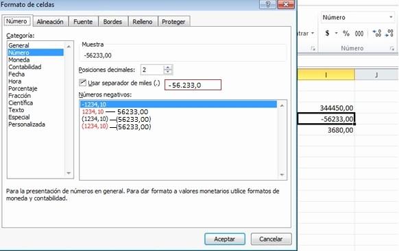 Formatos De Excel Para Contabilidad Unique Mundo Excel formato Número