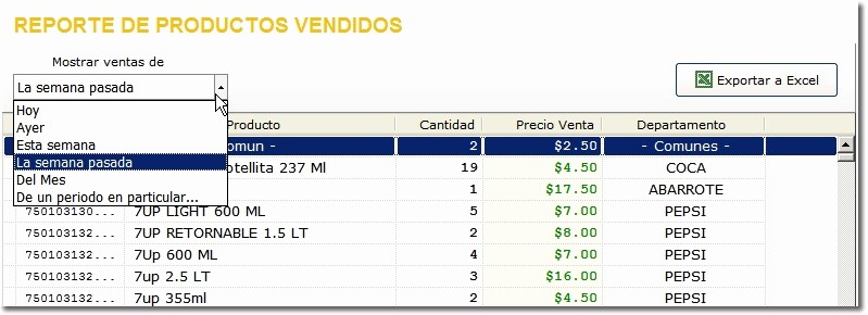 Formatos De Excel Para Reportes Beautiful Nueva Pantalla De Reporte De Ventas Y Reporte De Saldos