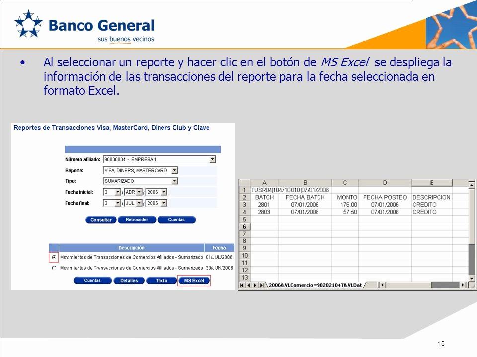 Formatos De Excel Para Reportes Elegant Reporte Pos Para Ercios Afiliados Ppt Descargar
