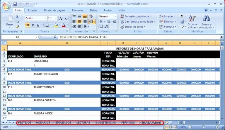 Formatos De Excel Para Reportes Lovely Control Biométrico De asistencia Empresarial Con Lector De